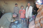 The home and children that we visited on Monday